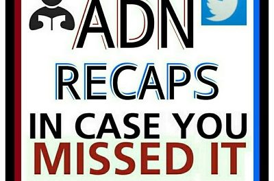 ADN HEADLINE RECAP – NOVEMBER 22, 2017 – In Case You Missed It