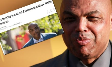 "Charles Barkley Labeled a ""White Supremacist"" For Telling Black People to Stop Killing Each Other"