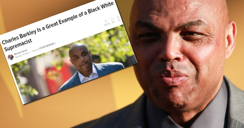 """Charles Barkley Labeled a """"White Supremacist"""" For Telling Black People to Stop Killing Each Other"""
