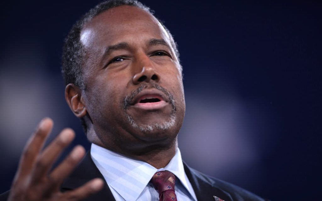 Sec. Ben Carson reveals his Virginia home was recently vandalized