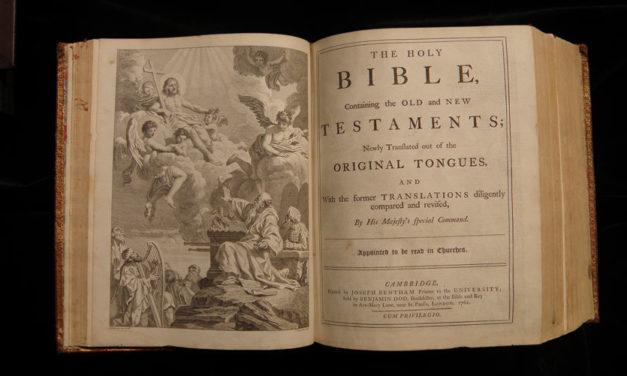 Gov. Matt Bevin publicly signs bill allowing Kentucky's public schools to teach the Bible