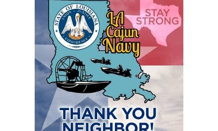 Cajun Navy and Oath Keepers – Rescues by Boat in Texas and Louisiana – Joined by La Dept of Wildlife & Fisheries