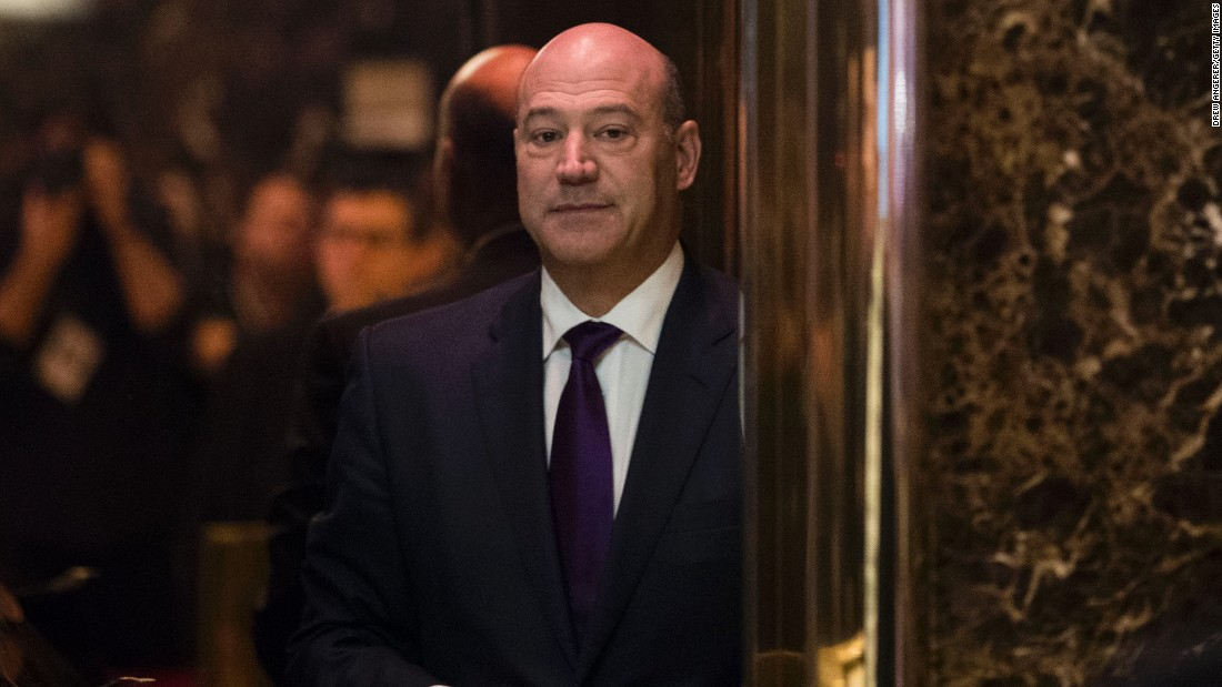 ADN Compilation:  Gary D Cohn – Chief Econ Adv to President / Dir of Nat'l Economic Council
