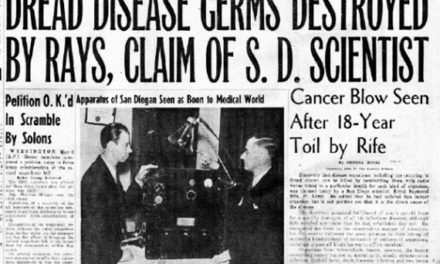 Cancer Cure Suppressed for 80 Years: Finally Admitting Royal Rife Was Right
