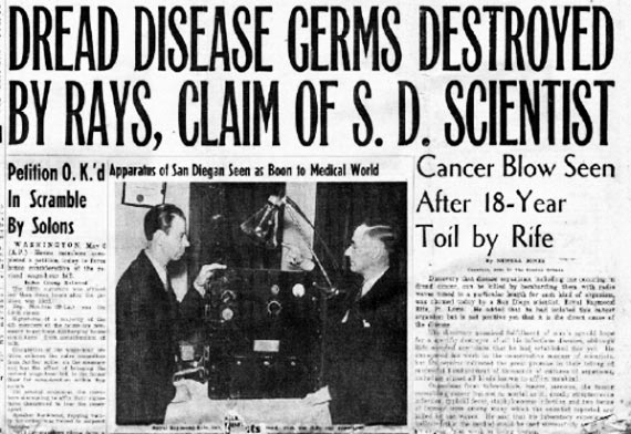 Cancer Cure Suppressed for 80 Years: Finally Admitting Royal