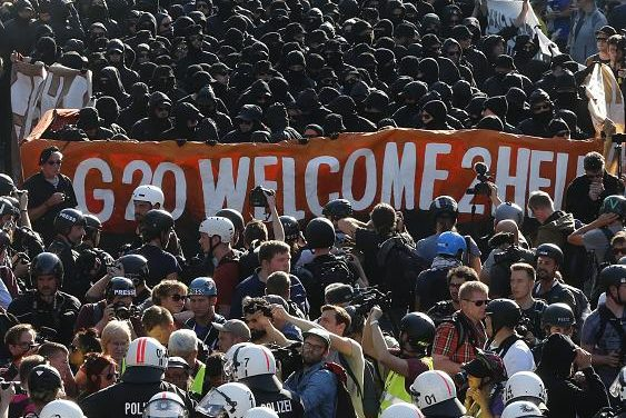 Thousands join G-20 protest march