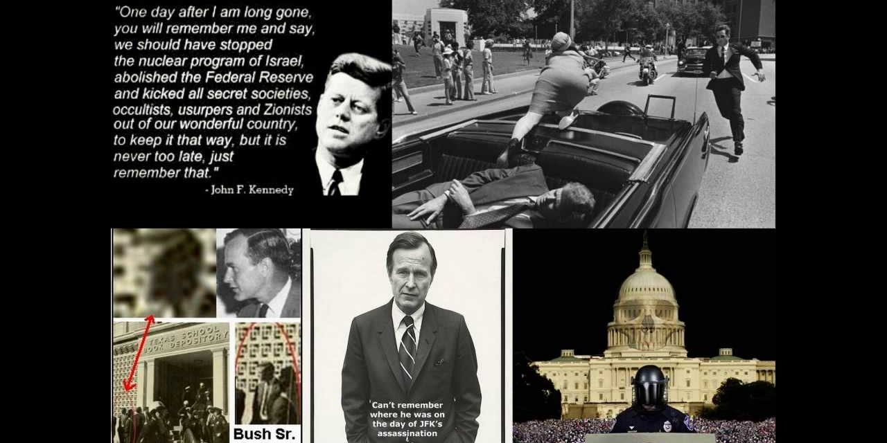 Trump Opens JFK Pandora Box – George H.W. and CIA Connected?