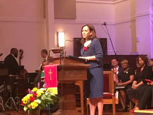 Kamala's Pulpit Contradicts