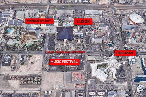 Massive Data As It Happened On Mandalay Bay Concert