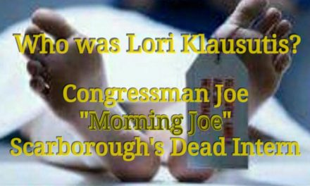 The Suspicious Death of Scarborough's Dead Intern – Lori Klausutis