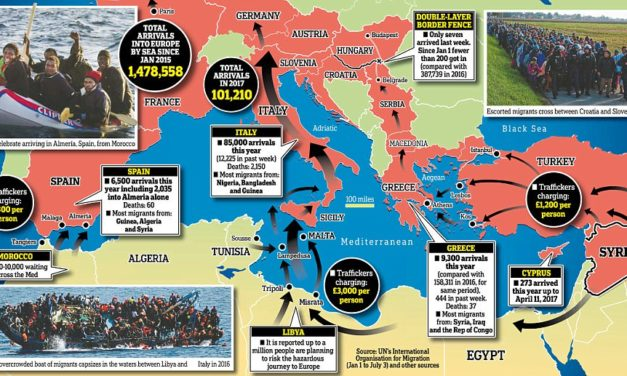 The great exodus: As tens of thousands of migrants make their way across the Mediterranean