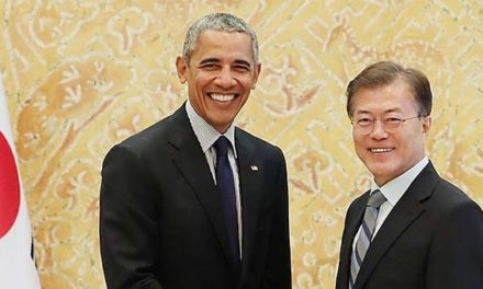 Shadow President? Obama Meets With South Korean President To Discuss Trump