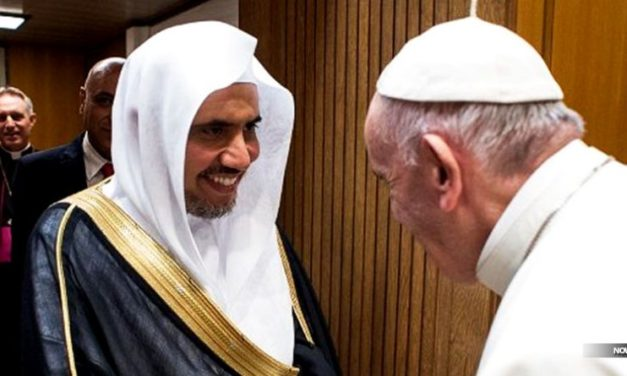 POPE FRANCIS WELCOMES TERROR-CONNECTED LEADER OF THE ANTISEMITIC MUSLIM WORLD LEAGUE AS SPECIAL GUEST TO VATICAN