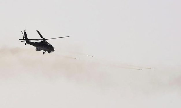 Who was in the Saudi helicopter crash today?