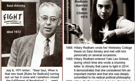 Archival Blog Post:  Saul Alinsky and DNC Corruption (written by Diane Alden)