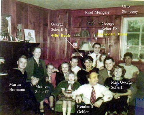 Will Trump's Pandora Box also reveal the Bush/Nazi connection??