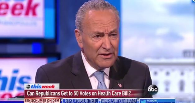 Schumer: Single-Payer Health Care Is On The Table In Democrats New Plan To Voters