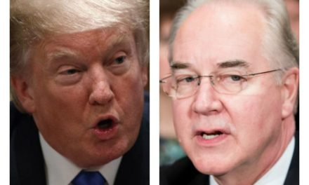 HHS Secretary Tom Price….You're FIRED!!