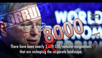 Resignations of Business Leaders and CEOs tops 8000 and Climbing