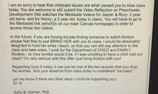 College Professor's Email To Mom Who Missed Class Goes Viral For All The Right Reasons