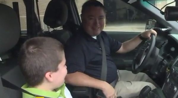 Police Officer Adopts Child After Investigating His Case of Child Abuse
